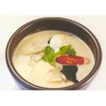 タイグリーンカレーセット(Fresh Spring Roll(生春巻き)+Thai Green Curry+Nan or Rice+Mango Lassi or Lassi)