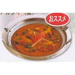 フィッシュマサラカレーセット(Fresh Spring Roll(生春巻き)+Fish Masala Curry+Nan or Rice+Mango Lassi or Lassi)