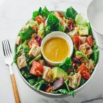 チキン Chicken salad
