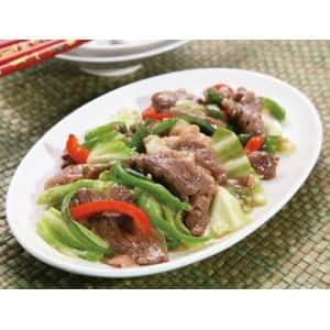 牛肉のオイスターソース炒め(冷凍真空パック商品)本格タイ料理を冷凍庫にストック