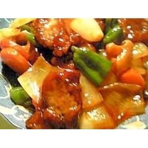 タイ式酢豚(冷凍真空パック商品)本格タイ料理を冷凍庫にストック!