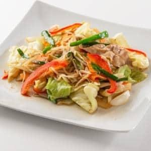 A2.肉野菜炒め ごはん付き
