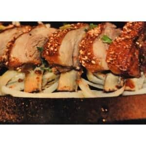 烤羊排ラムスペアリブ炭火焼き