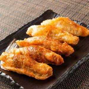 パリパリ鶏皮餃子