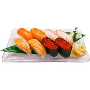 特上サーモン寿司