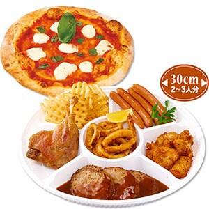 パーティー&ピザセット(イタリアンパーティープレート&マルゲリータ)