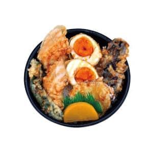 【69】鶏ささみタレ天丼