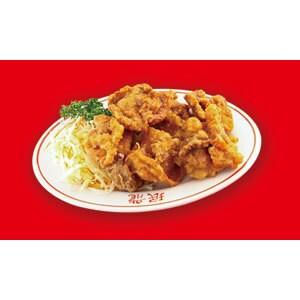 乾炸子鶏(鶏の唐揚げ)
