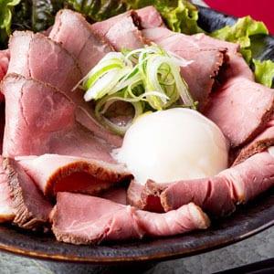 大盛ローストビーフ丼