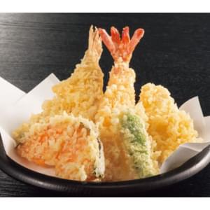 つきじ海賓 【F2】天ぷら5点盛り合わせ