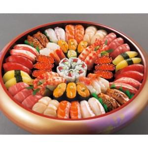 【吟撰(ぎんせん)】 5人前【54貫+巻物+厚焼玉子】