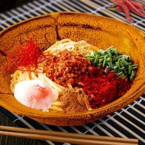 汁なし担担麺+温泉卵 【深夜】