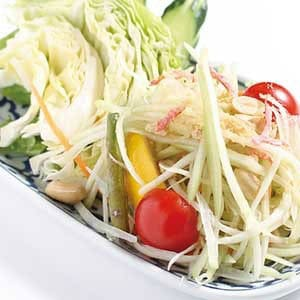 ソムタム(青パパイヤサラダ)