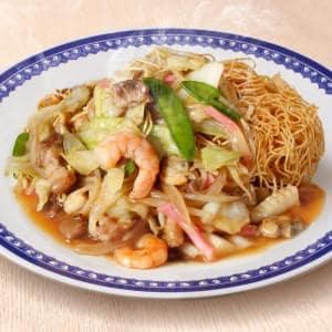 皿うどん 麺ダブル