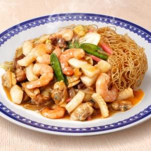 海鮮皿うどん 麺並