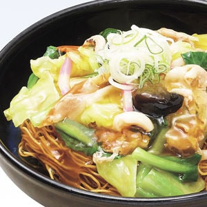 【F01】パリパリ揚げ麺の皿うどん