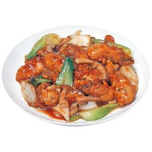 26 カキと野菜のオイスターソース炒め 牡蠣炒野菜