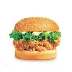辛チキンバーガー