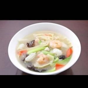 海鮮刀削麺