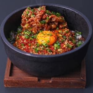 牛カルビ韓国丼