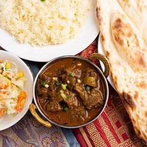 マトンカレーセット Mutton Curry Set