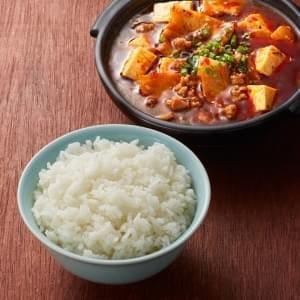 麻婆豆腐ライスセット