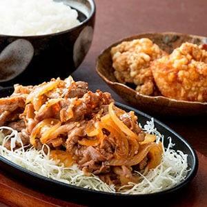 【D313】川崎焼肉唐揚げセット お肉250g、唐揚げ2個