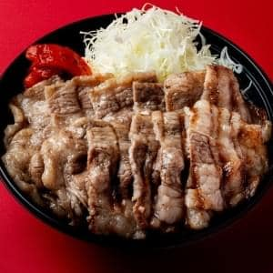 【銀座 上松】牛塩タレ焼肉丼250g 牛塩タレ焼肉丼250g