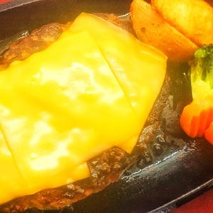 アメリカンチーズハンバーグ 180g