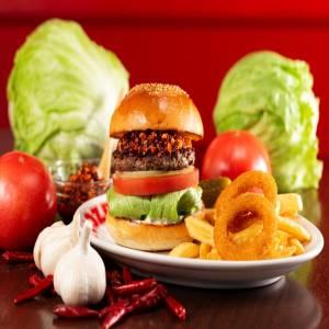 zakzak rayu burger ザクザク ラー油バーガー