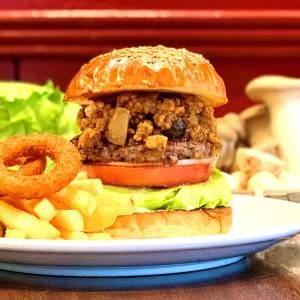 Porcini Cream Burger ポルチーニクリームバーガー