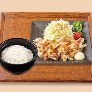 ランチ 生姜焼き弁当