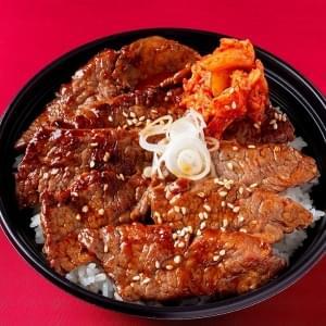 赤身肉の焼肉丼(タレ) 赤身肉の焼肉丼(タレ)