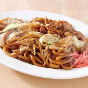 なにわ太麺 豚ソース焼きそば(麺並)