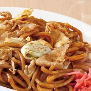 なにわ太麺 豚ソース焼きそば(麺大盛)