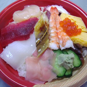 昼だけの海鮮丼