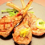 ラムチョップ3種/Three kinds of lamb chops