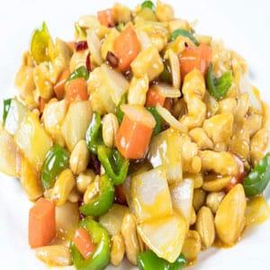 【37】鶏肉とピーナッツの四川風炒め