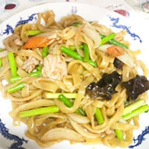 刀削麺炒め