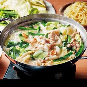 豚骨白湯(パイタン)スープ 【I57】牛もつ(1-2人前)