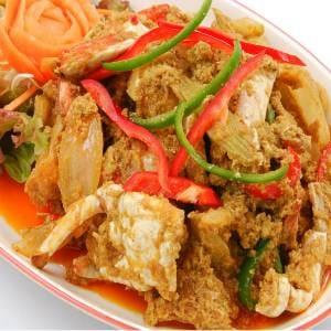 プーパッポンカリー/Stir Fried Crab Curry