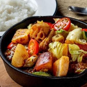 もりもりグリル野菜カレー(野菜350g)
