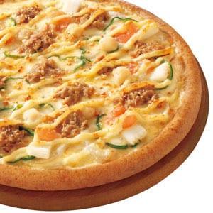 ピザ・カリフォルニア シーフードコンボ(グラタンソース)