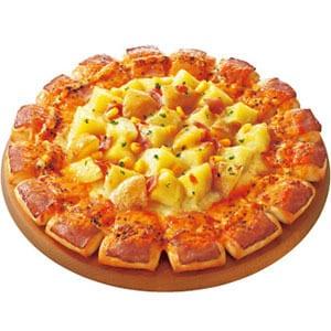 チェダーベーコンエッジ・北海道産皮付きじゃがバターピザ Mサイズ