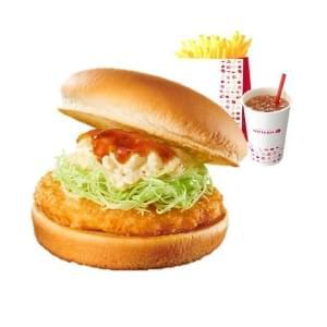 【セット】チキン南蛮バーガー