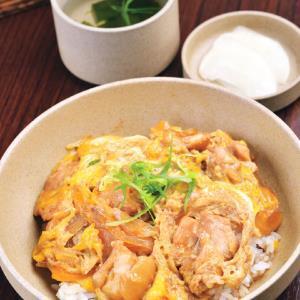 伝承丼だしで作る国産若鶏もも肉親子丼(特製お吸い物、無添加たくあん付)