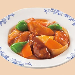 バーミヤン 香港風酢豚