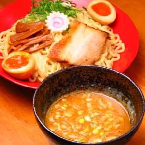 【期間限定200円引き!】焼き味噌つけ麺 味玉つき