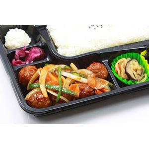 肉団子の甘酢弁当 普通