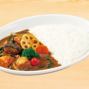 季節の野菜カレー 少なめ